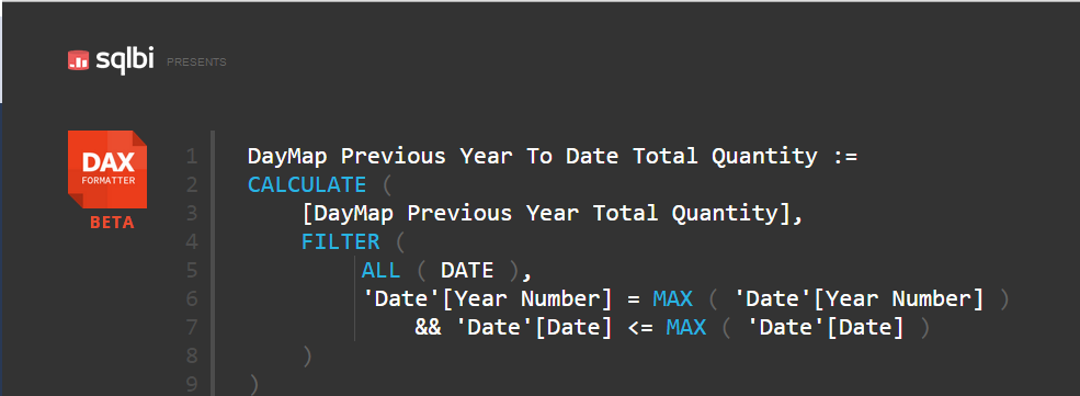 Custom Year To Date in Tabular Model using DAX | Benni De Jagere